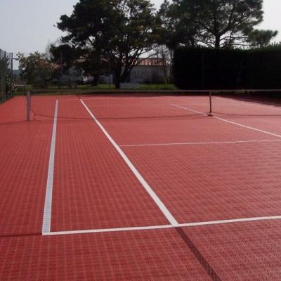 Модульное покрытие Bergo tennis