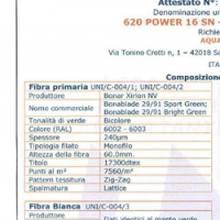 Искусственная трава для футбола - 620 POWER 16