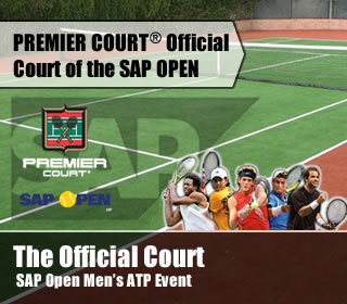 premier court sap open mens atp event